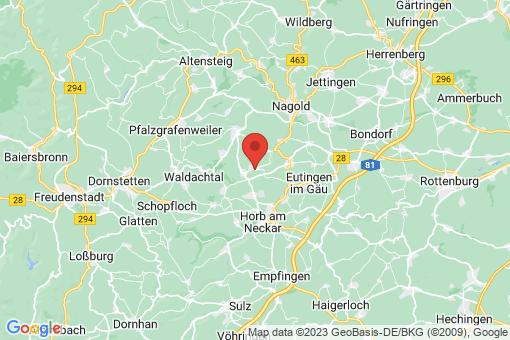 Karte Horb am Neckar