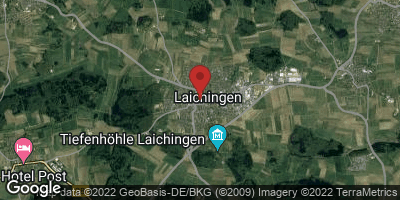 Google Map of Laichingen