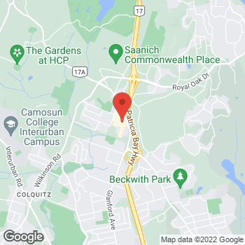 Map of Tim Hortons at 4440 West Saanich Rd, Saanich, BC V8Z 3E9