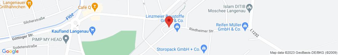 BayWa Tankstelle Langenau Anfahrt