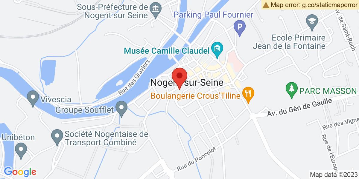 Localisation du projet 'Exercice national de sûreté nucléaire à Nogent-sur-Seine'
