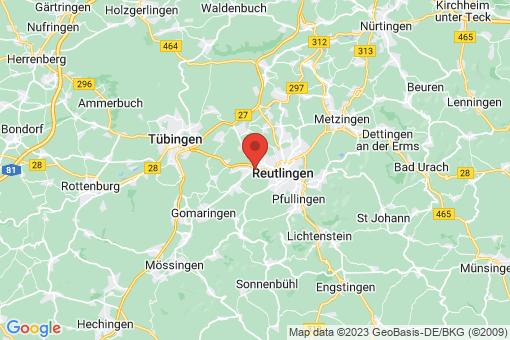 Karte Reutlingen