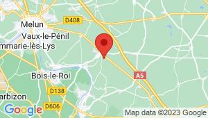 Carte de localisation du centre de contrôle technique LE CHATELET EN BRIE