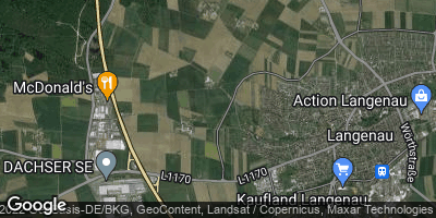Google Map of Langenau