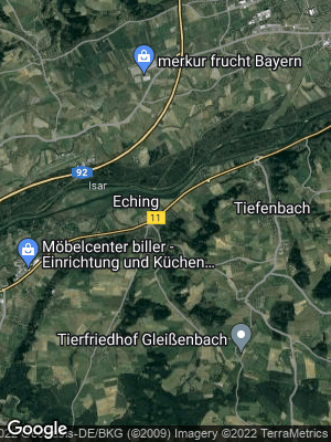 Google Map of Eching