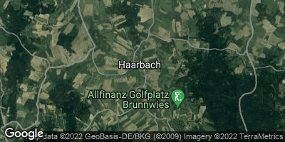 Google Map of Haarbach