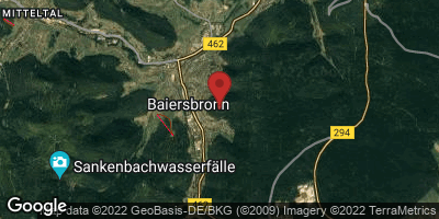 Google Map of Baiersbronn