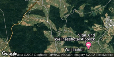 Google Map of Waldachtal