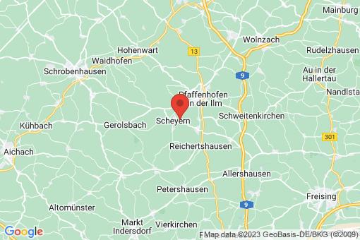 Karte Scheyern