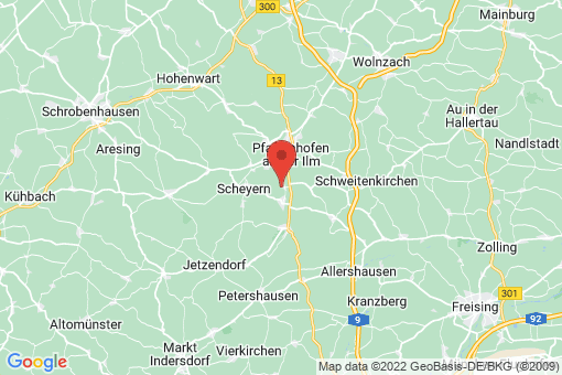 Karte Hettenshausen