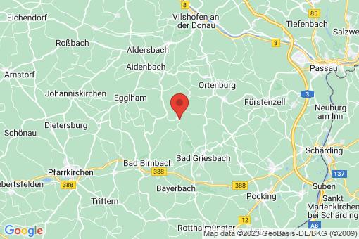 Karte Haarbach
