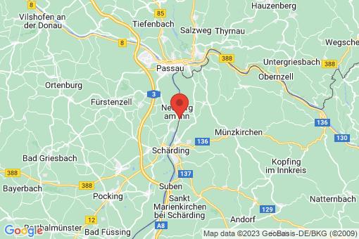 Karte Neuburg am Inn