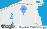 Map of Anacortes, WA