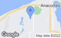 Map of Anacortes, WA