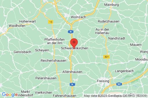 Karte Schweitenkirchen