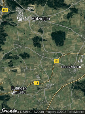 Google Map of Baisingen