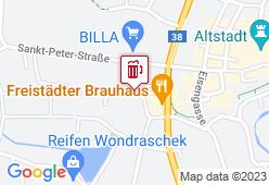 Brauhaus Freistadt - Karte