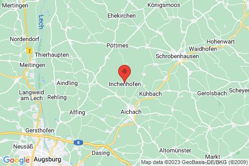 Karte Inchenhofen