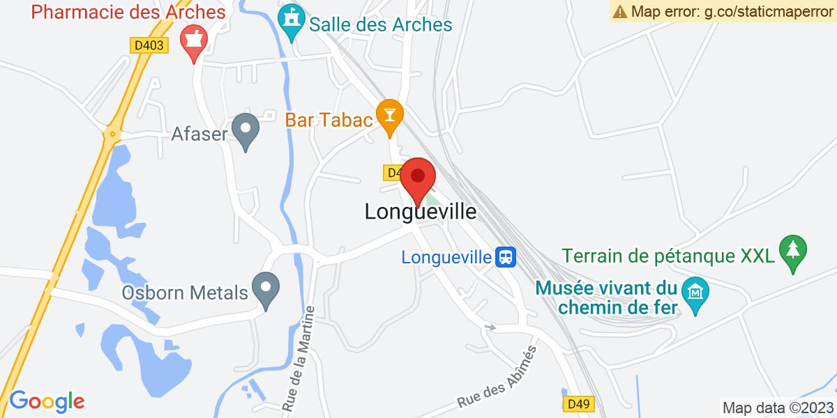 Localisation du projet 'PROGRAMME AJECTA DE LONGUEVILLE'