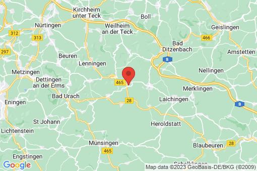 Karte Römerstein Donnstetten