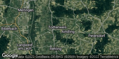 Google Map of Todtenweis