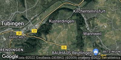 Google Map of Kusterdingen