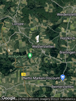 Google Map of Westerstetten