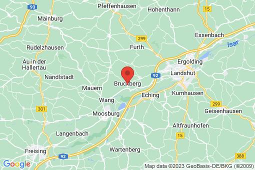 Karte Bruckberg
