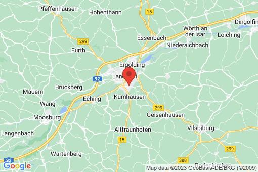 Karte Landshut