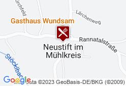 Gasthaus Wundsam - Karte