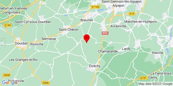 Google Map of 48.5296738,2.1707254