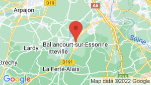 Carte de localisation du centre de contrôle technique BALLANCOURT SUR ESSONNE