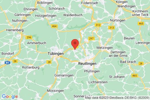 Karte Kirchentellinsfurt