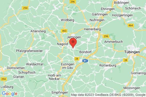 Karte Mötzingen