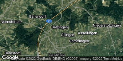 Google Map of Setzingen