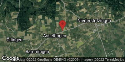 Google Map of Asselfingen