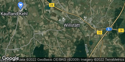 Google Map of Willstätt