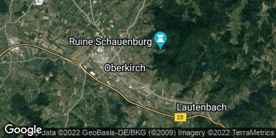 Google Map of Oberkirch