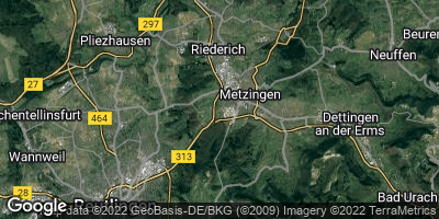 Google Map of Metzingen