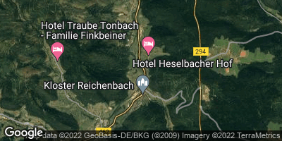 Google Map of Klosterreichenbach