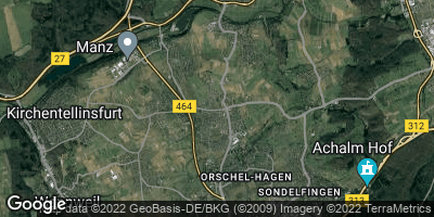 Google Map of Rommelsbach