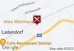 Altes Milchhaus - Karte