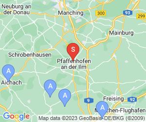 Karte für Schwimmbad Pfaffenhofen