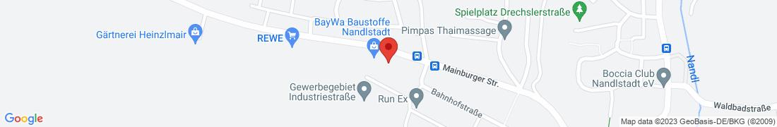 BayWa Baustoffe Nandlstadt Anfahrt