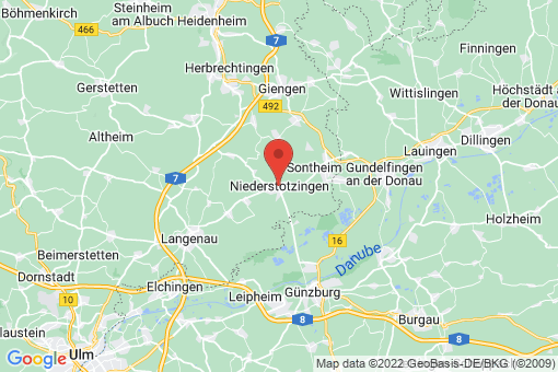 Karte Niederstotzingen