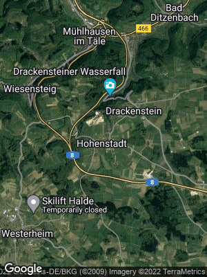 Google Map of Hohenstadt