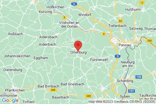 Karte Ortenburg
