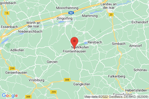 Karte Frontenhausen