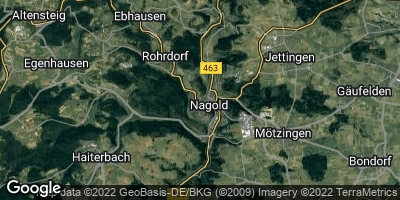 Google Map of Nagold
