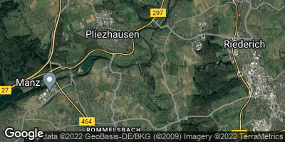 Google Map of Pliezhausen